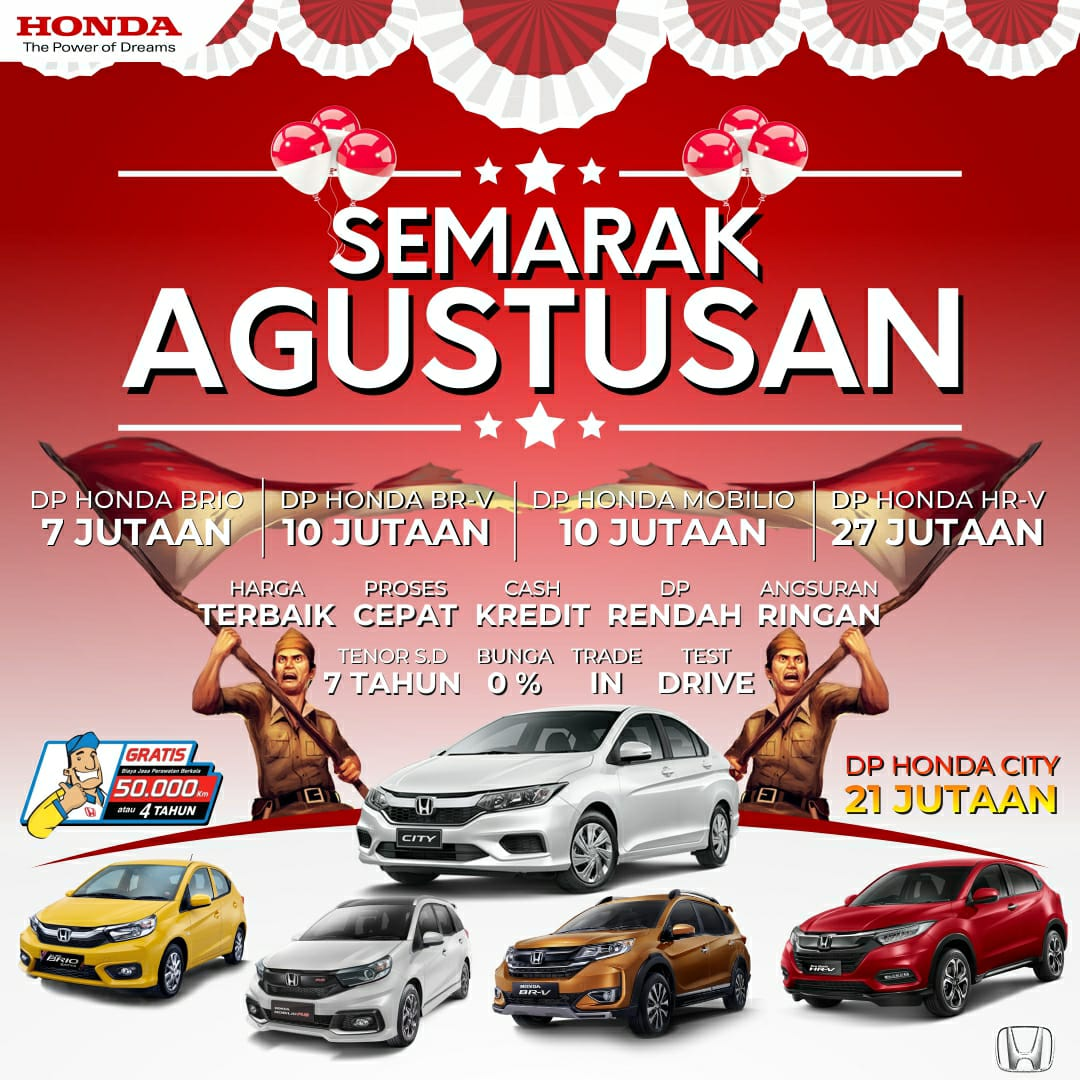Banner Promo Honda Semarak Agustusan Di Honda Solo